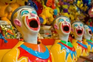 Laughing Clowns by Craig Jewell