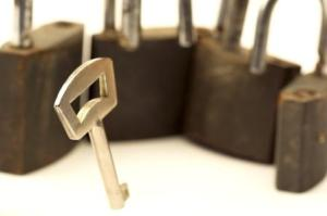 Padlock by Victures